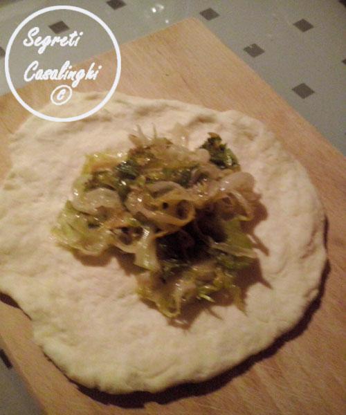 calzone panzerotto verdure