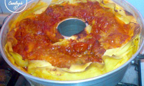 lasagna fornetto versilia