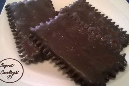 chiacchiere carnevale cioccolato