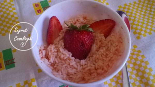 risotto fragole