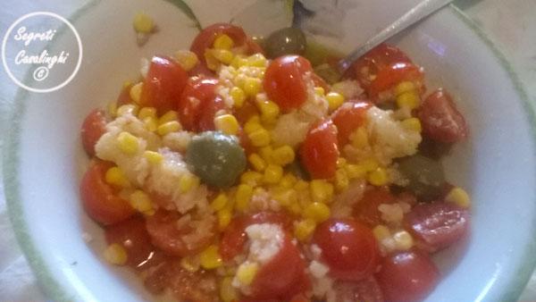 insalata mais pomodori