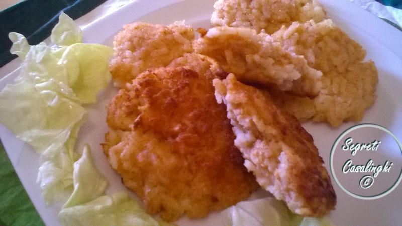 frittelle riso salate