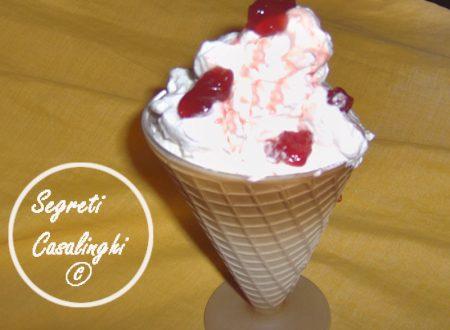 gelato amarene casalingo