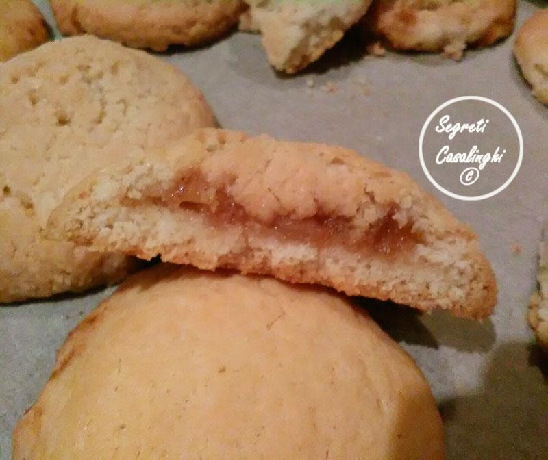 biscotti farciti mele