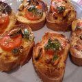 bruschette cozze pomodorini