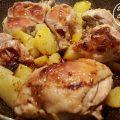 pollo patate
