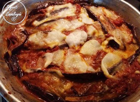 parmigiana melanzane light padella