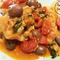 merluzzo pomodori olive