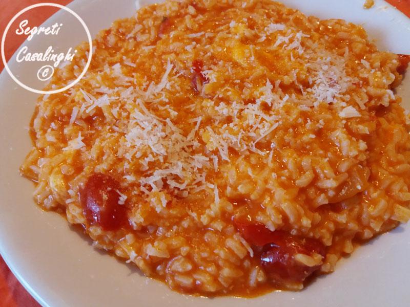 riso pomodoro mozzarella