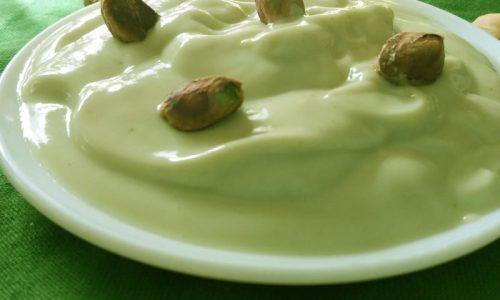 crema pasticcera pistacchio