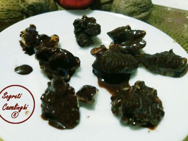 gherigli noce cioccolato