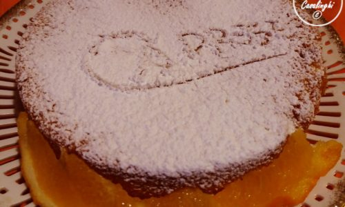 torta caprese arancia mandorle cioccolato bianco