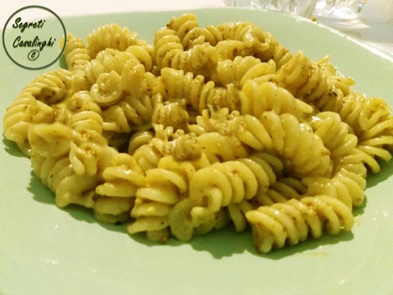 pasta crema pistacchi