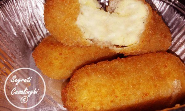 crocchette patate panzerotti forno