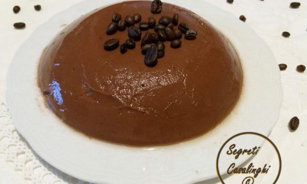 budino caffe cioccolato