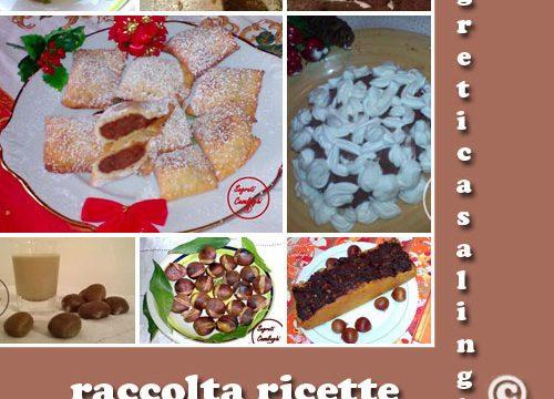 raccolta ricette castagne