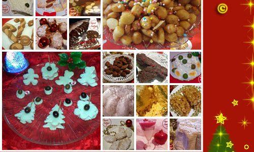 raccolta ricette dolci e salate natalizie