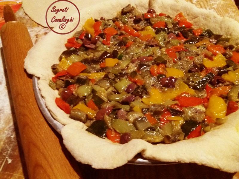 torta rustica verdure