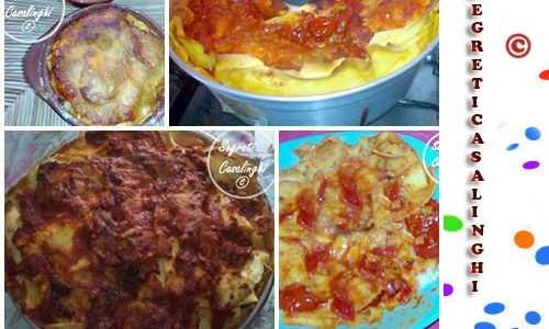 raccolta lasagne