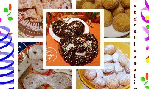 raccolta dolci carnevale