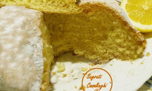 torta limone senza latte uova