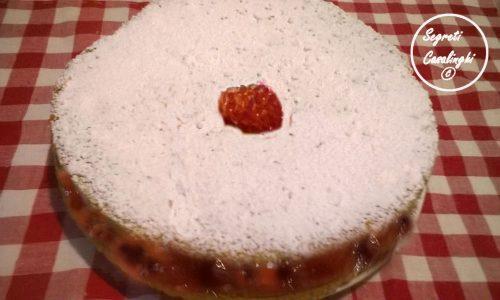 torta grano saraceno mirtilli rossi