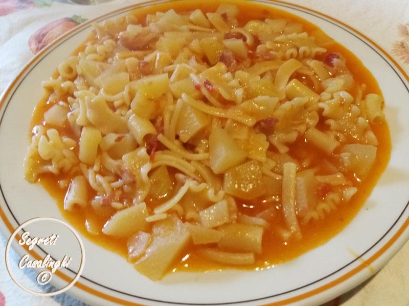 pasta patate napoletana