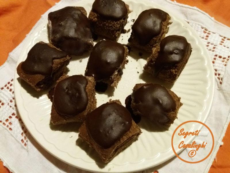 rotolini cioccolato farciti