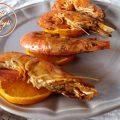 gamberoni arancia