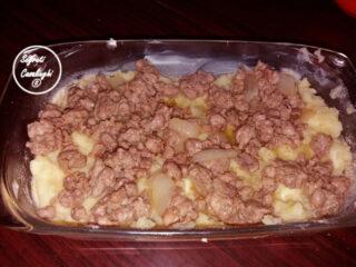 sbriciolata salsiccia patate