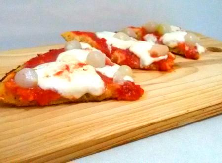 Pizza Soffice e LOW CARB in 20 min: direttamente in padella e non sporchi niente!