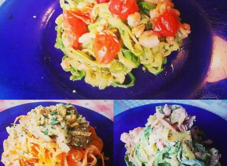 3 Idee gustose e sazianti per condire le Tagliatelle di Zucchine e Carote