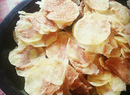 CHIPS di verdure: come preparare uno snack salutare in pochi minuti