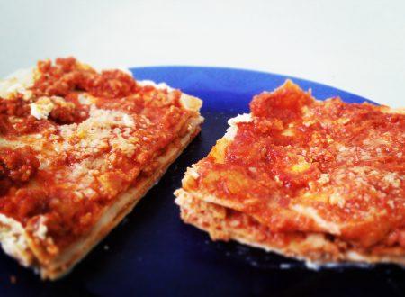 Lasagna proteica veloce, pronta in 20 min senza forno