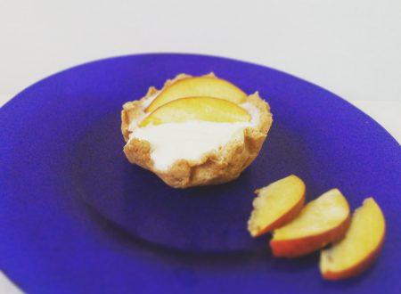 Crostatina con crema pasticcera FIT e frutta fresca