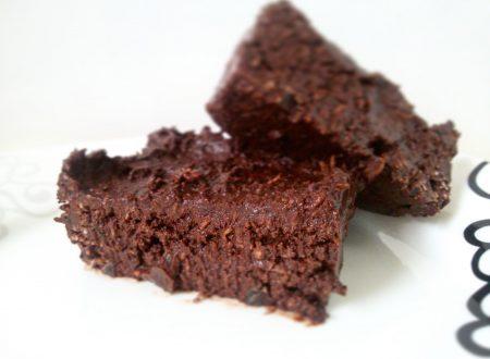Brownie vegan & raw • Una bomba di MAGNESIO a boccone