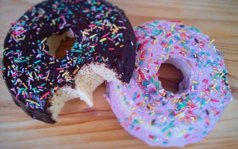 Donuts Proteici •cotti in 5 min senza forno•