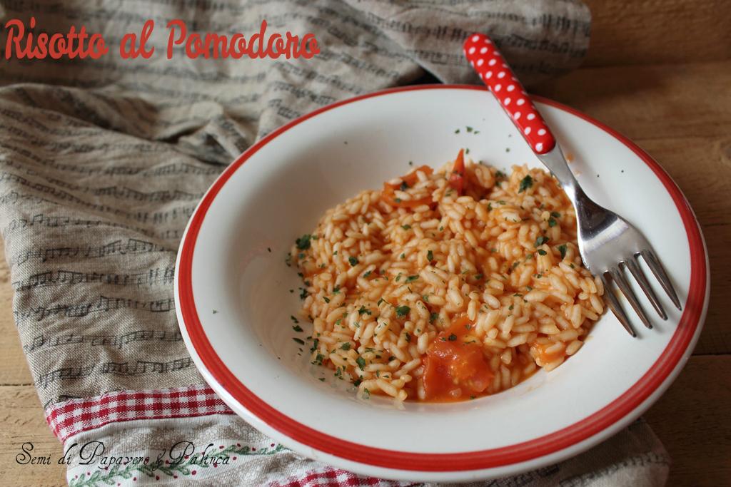 risotto al pomodoro ricetta
