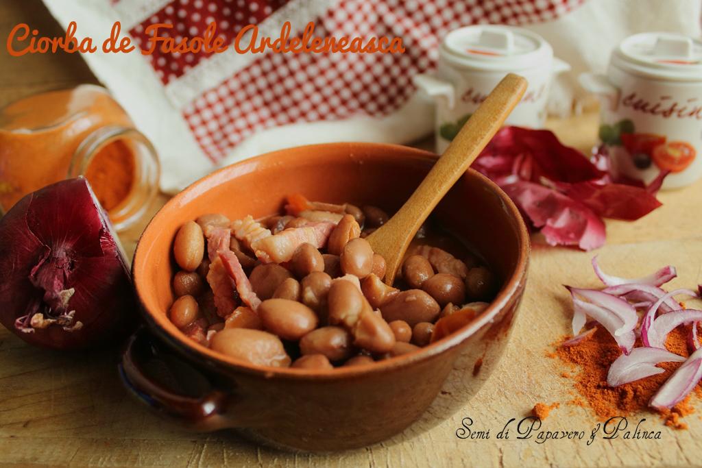 zuppa di fagioli alla rumena