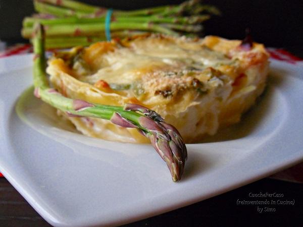 lasagne di asparagi / cuochepercaso