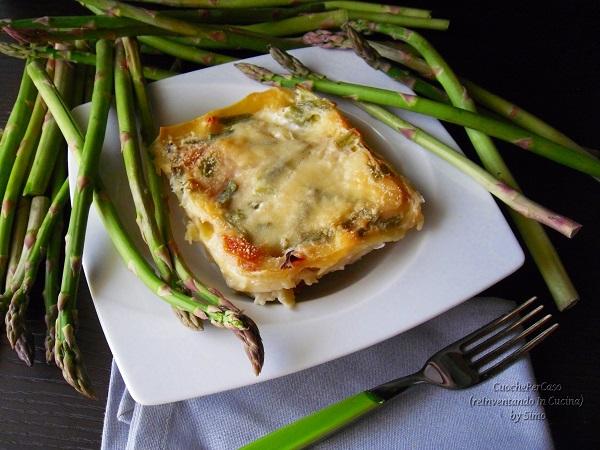 lasagne di asparagi e ricotta