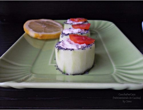 Cetrioli con crema al tonno