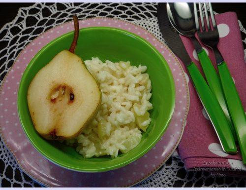 Risotto alle pere e Strachitunt ricetta