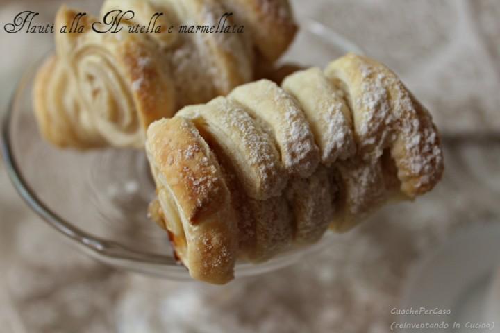 Simil Flauti alla Nutella e Marmellata