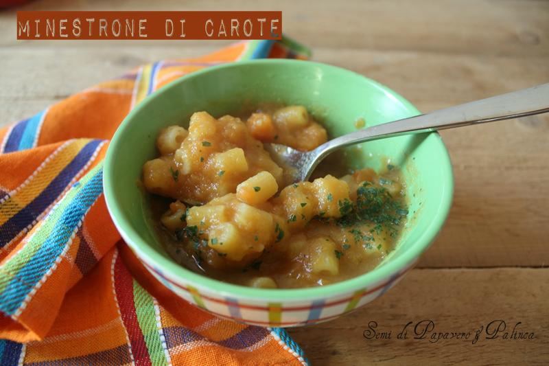 minestrone di carote