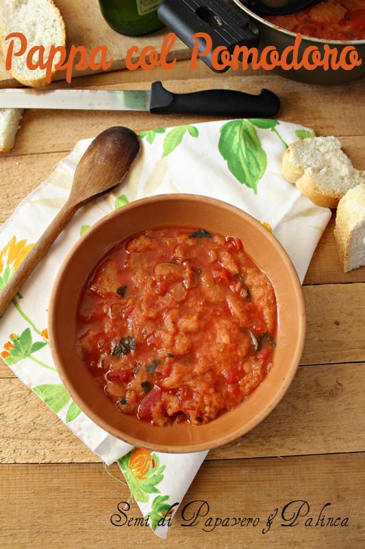 pappa al pomodoro ricetta facile
