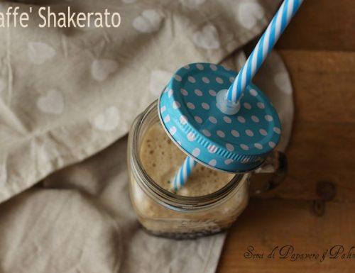 Caffè Shakerato ,bevanda energizzante , ricetta veloce senza shaker