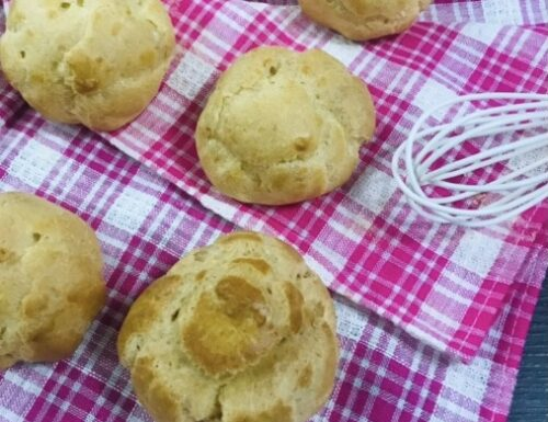 Pasta choux senza burro ( bignè )