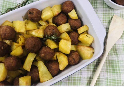 Patate e polpette