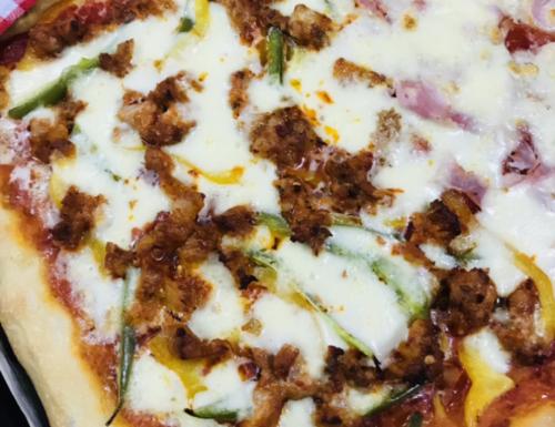 Pizza ad alta idratazione